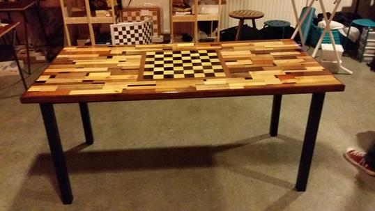 Unique Chess Table