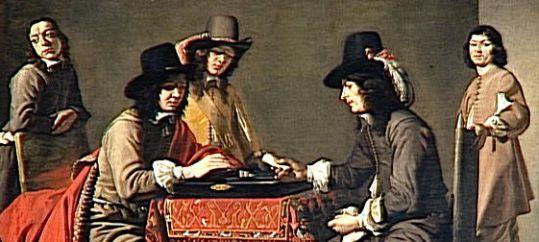 Spellendoos met schaakspel