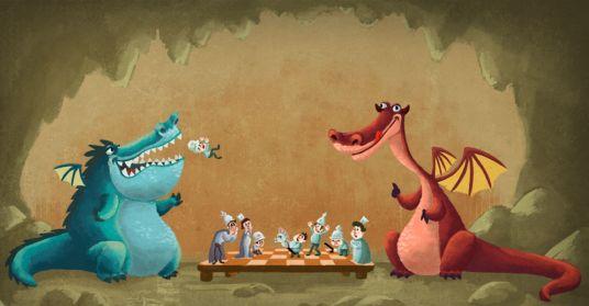 Opening schaakboek