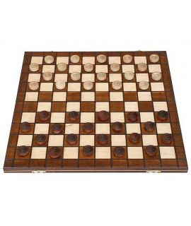 Draughts travel set 39 x 19 cm