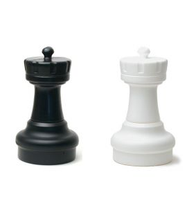 Spare rook for giant chess set