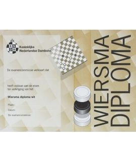Wiersma-diploma wit - Niveau 2