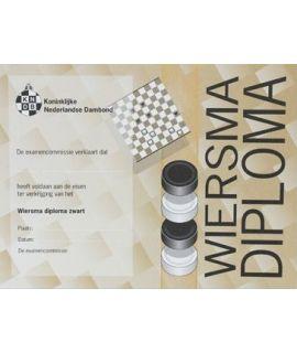 Wiersma-diploma zwart - Niveau 2