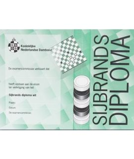 Sijbrands-diploma wit - Niveau 3