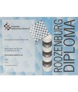 Roozenburg-diploma wit - Niveau 4