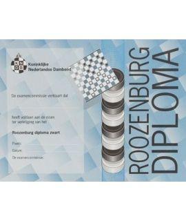 Roozenburg-diploma zwart - Niveau 4