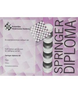 Springer-diploma wit - Niveau 5
