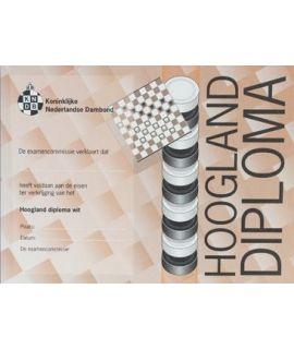 Hoogland-diploma wit - Niveau 6