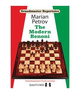 Grandmaster Repertoire 12 - The Modern Benoni (hardcover) by Marian Petrov