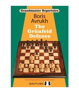 Grandmaster Repertoire 8 - The Grunfeld Defence Volume One by Boris Avrukh (hardcover)