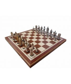 England chess set 580 x 290 x 70 mm - king height 115 mm