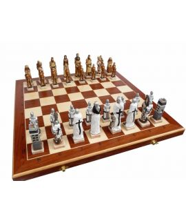 Battle of Grunwald chess set 600 x 300 x 80 mm - king height 140 mm