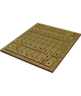 Shogi set - shogiboard 32 x 29 x 1 cm - Japanese chess