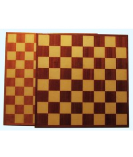Chess and draughtsboard 47cm poly coated - squares 55mm and 45mm