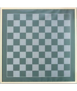 Magnetic draughts demonstraton board 81 x 81 cm without pieces - field size 66 mm
