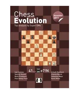 Chess Evolution November 5/2011 - Edited by Arkadij Naiditsch