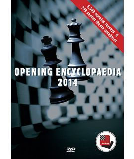 Opening Encyclopaedia 2014 - The ChessBase team and Niclas Huschenbeth
