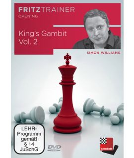 King's Gambit Vol. 2 King's Gambit starting with 3 Nf3 and KG Declined - Simon Williams