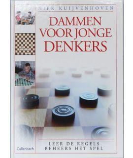 Dammen voor jonge denkers - leer de regels beheers het spel - Niek Kuijvenhoven