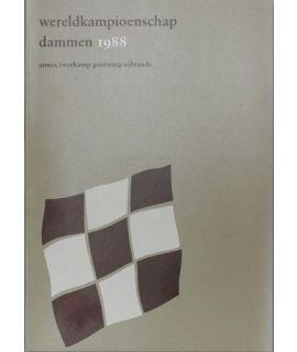 Dammen - Toernooiboek WK 1988