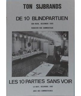 10 Partijen blinddammen 1982 - Ton Sijbrands