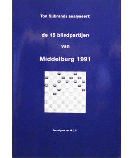 15 Partijen blinddammen 1991 - Ton Sijbrands