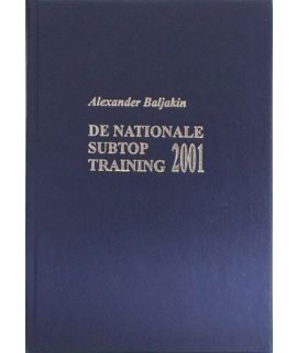 De nationale subtoptraining 2001 - A. Baljakin