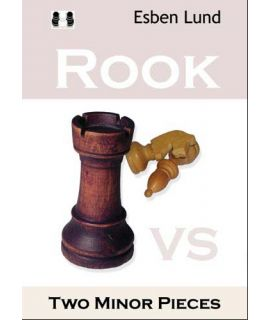 Rook vs. Two Minor Pieces by Esben Lund