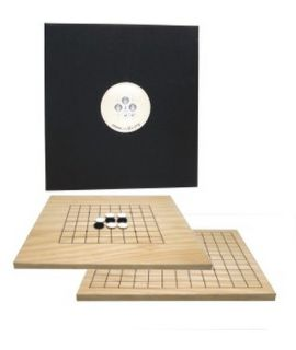 Go starter set 9 x 9 and 13 x 13 line board, including software