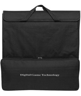 DGT electronic board bag black padded canvas - for boards 54 cm and cables
