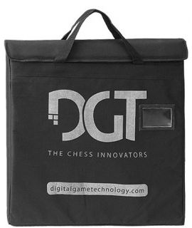 DGT electronic board bag black padded canvas - for boards 54 cm