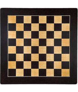 Barcalona luxe schaakbord wenge 55 cm - veldmaat 55 mm - maat 6