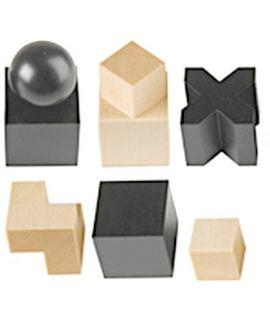 Bauhas schaakstukken - koningshoogte 50 mm (# 4)