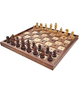 Chess set for the blind or visually impaired