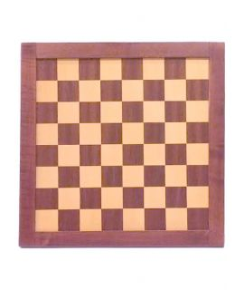 Retro wooden chess board 35 cm - field size 35 mm - size 2