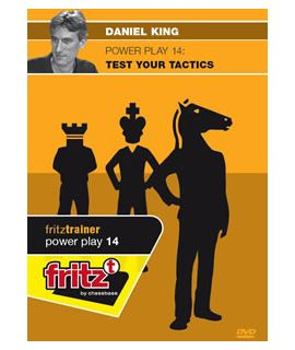 Power Play 14 - Test Your Tactics by  Daniel King