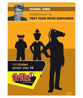 Power Play 16 - Test Your Rook Endgames by  Daniel King