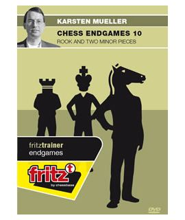 Chess Endgames 10 - Rook and two minor pieces by Dr. Karsten Müller