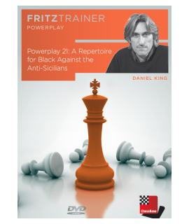Power Play 21: A repertoire for black against the Anti-Sicilians by  Daniel King