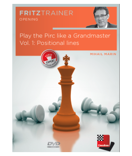 Play the Pirc like a Grandmaster Vol. 1 by  Mihail Marin