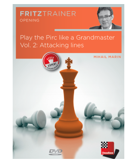 Play the Pirc like a Grandmaster Vol. 2 by  Mihail Marin