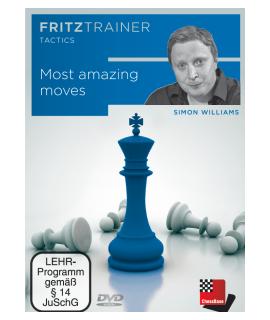 Most amazing moves: FritzTrainer Tactics - Simon Williams