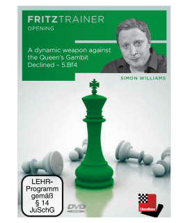 A dynamic weapon against the QGD - 5.Bf4 - Simon Williams