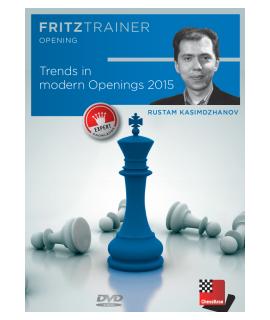 Trends in modern openings 2015 - Rustam Kasimdzhanov