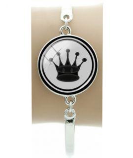 Schaak-koningin-armband - polsbreedte maximaal 6 cm