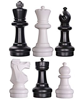 Giant chess pieces small - king height 31 cm
