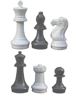 Giant chess pieces medium - king height 41 cm