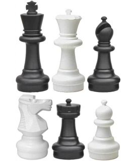 Giant chess pieces large - king height 64 cm