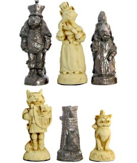 Katten tegen de honden schaakstukken (# 6)
