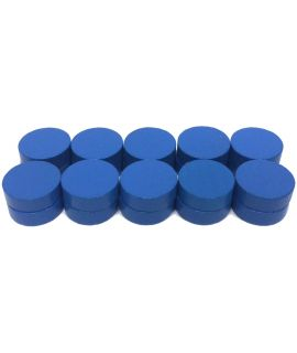 Checkers 20 painted blue - 21 x 7 mm